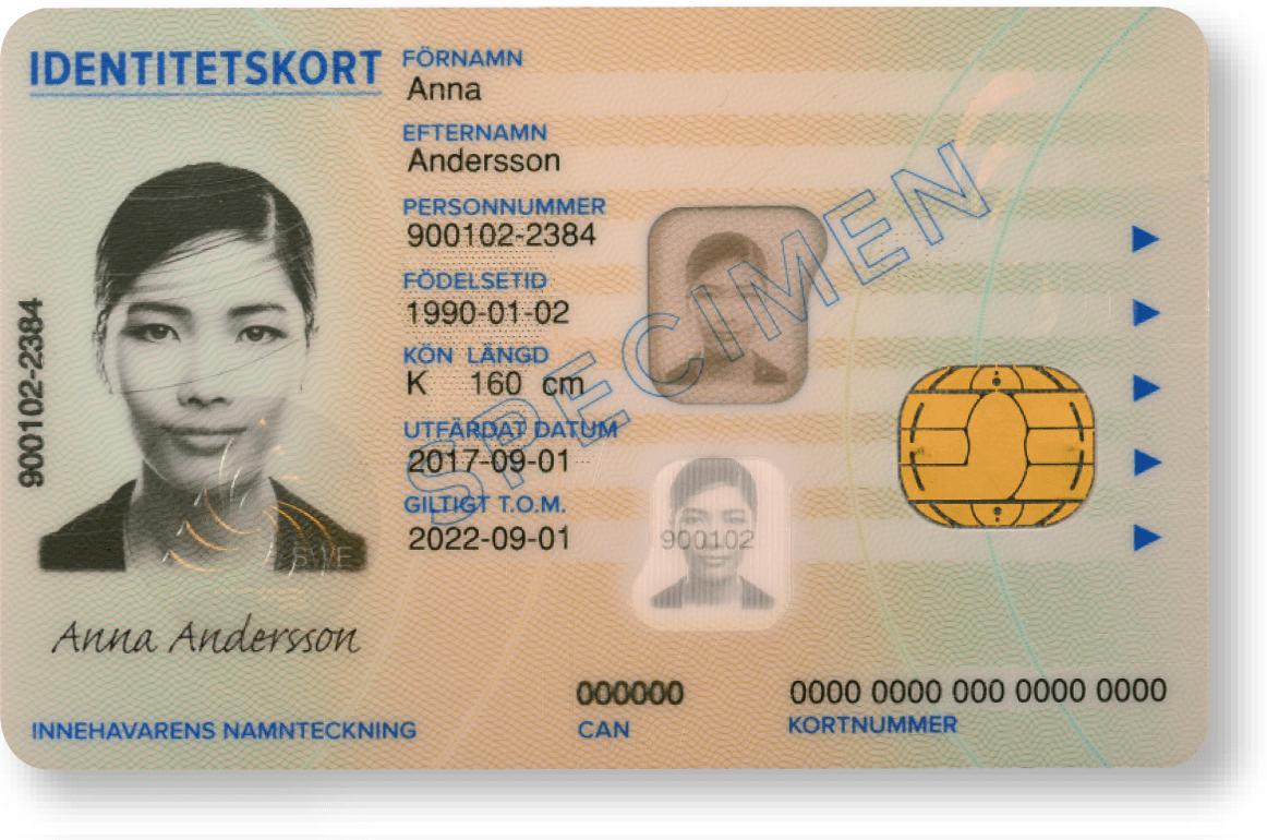 Id-kort från Skatteverket Ring Gemalto för kontroll, telefonnummer 010-331 10 10.